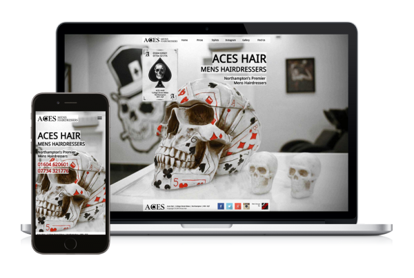 Aces Hair New Website