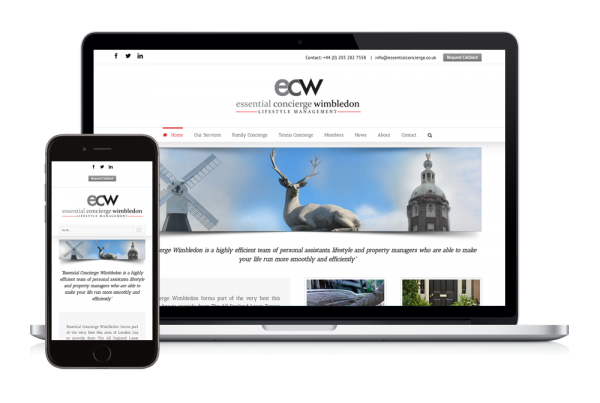 ECW New Website