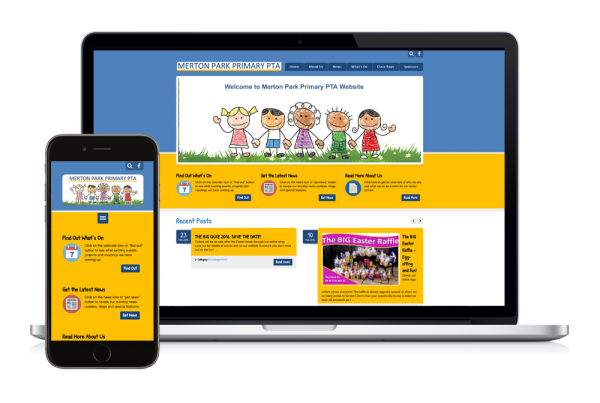 Merton Park PTA New Website