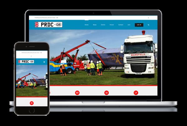 PRDC CMS Website