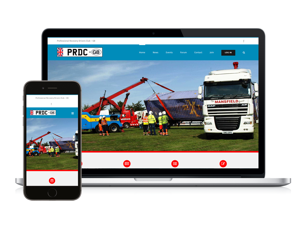 New CMS Website for PRDC.co.uk