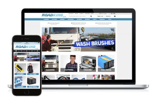 Roadking responsive online shop