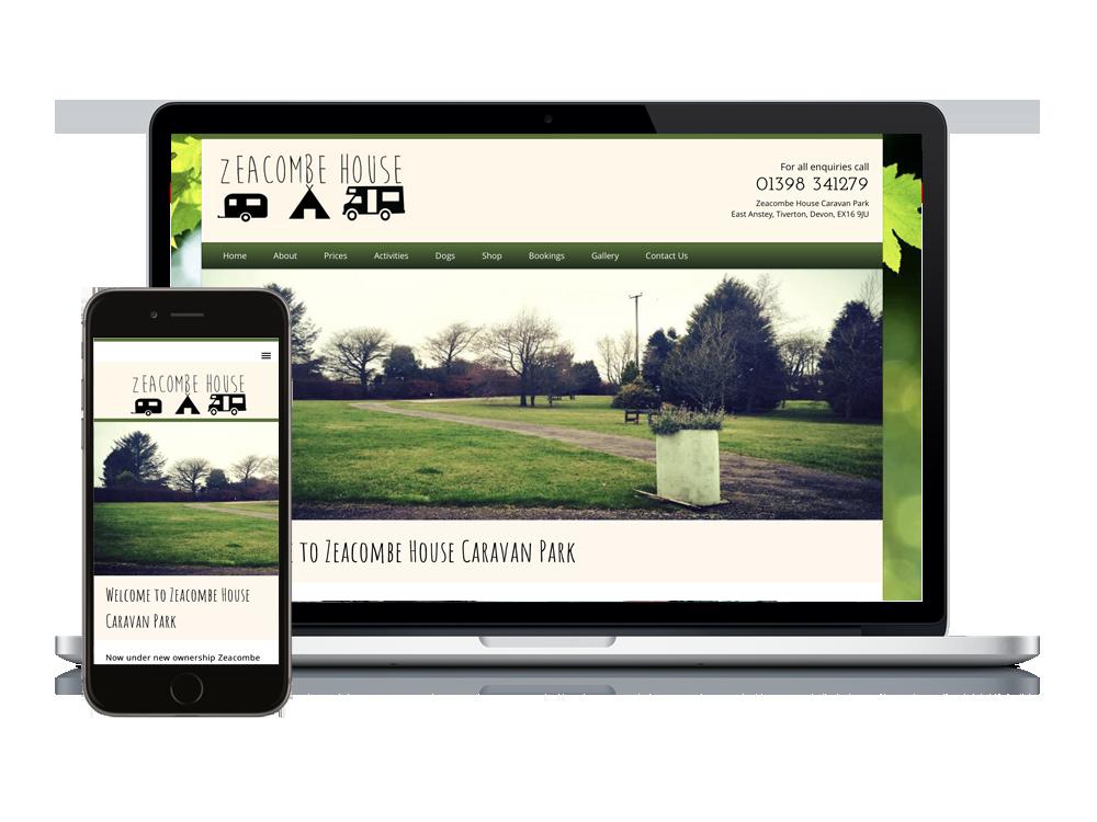 New Business New Website